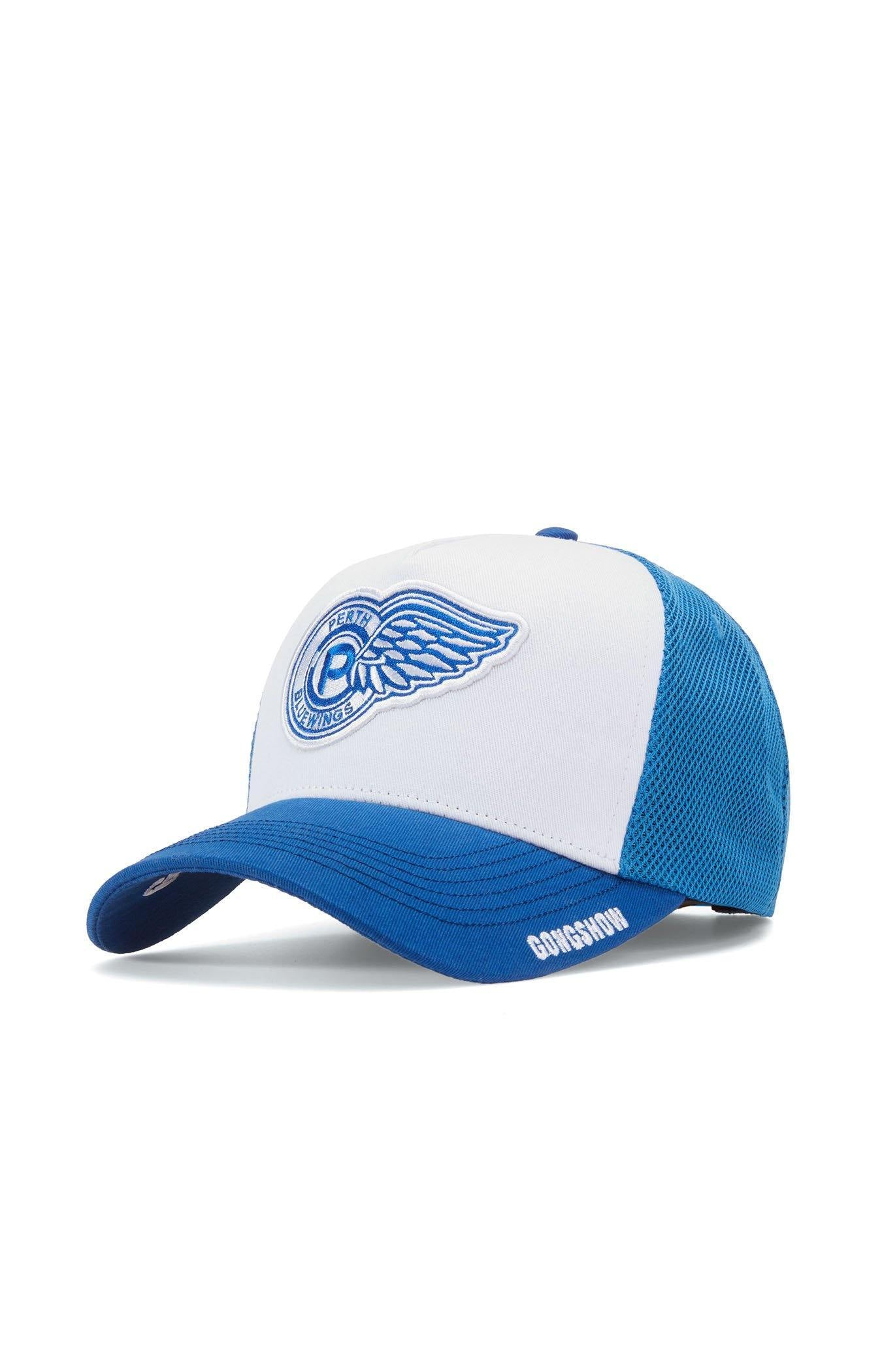 b6f35c4c Perth Blue Wings CCHL 2 Mens White GONGSHOW Hockey Hat – GONGSHOW USA