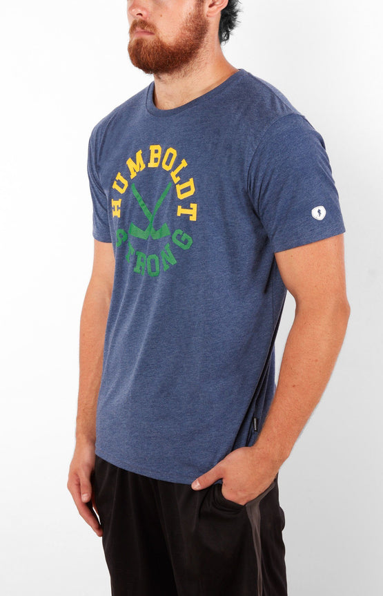 Humboldt Strong Men Blue T-Shirt