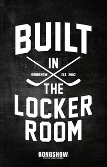 Built In The Locker Room - Poster