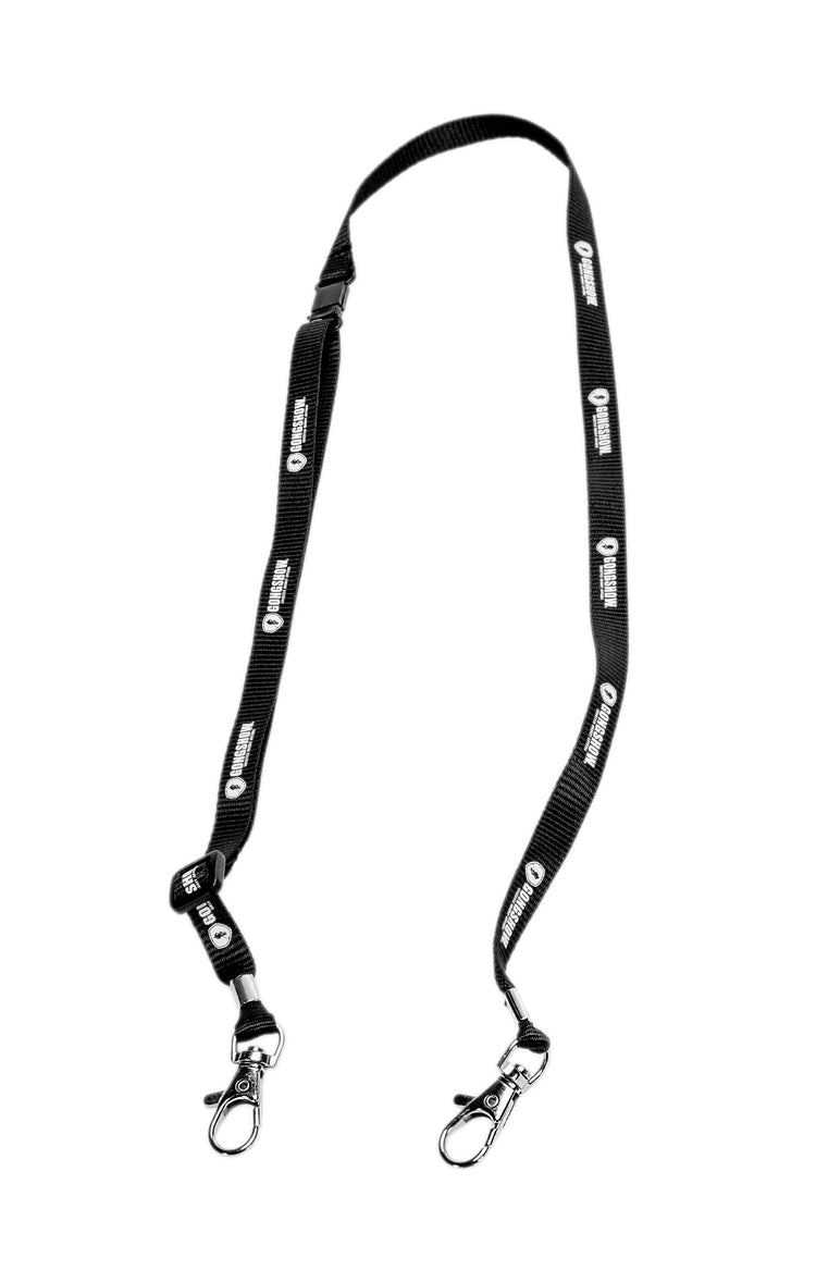 Black Adjustable Lanyard