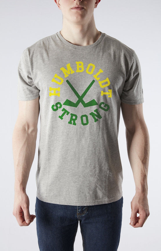 Humboldt Strong Men Athletic Grey T-Shirt