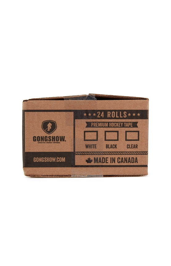 GONGSHOW Hockey Tape - White 24 pack