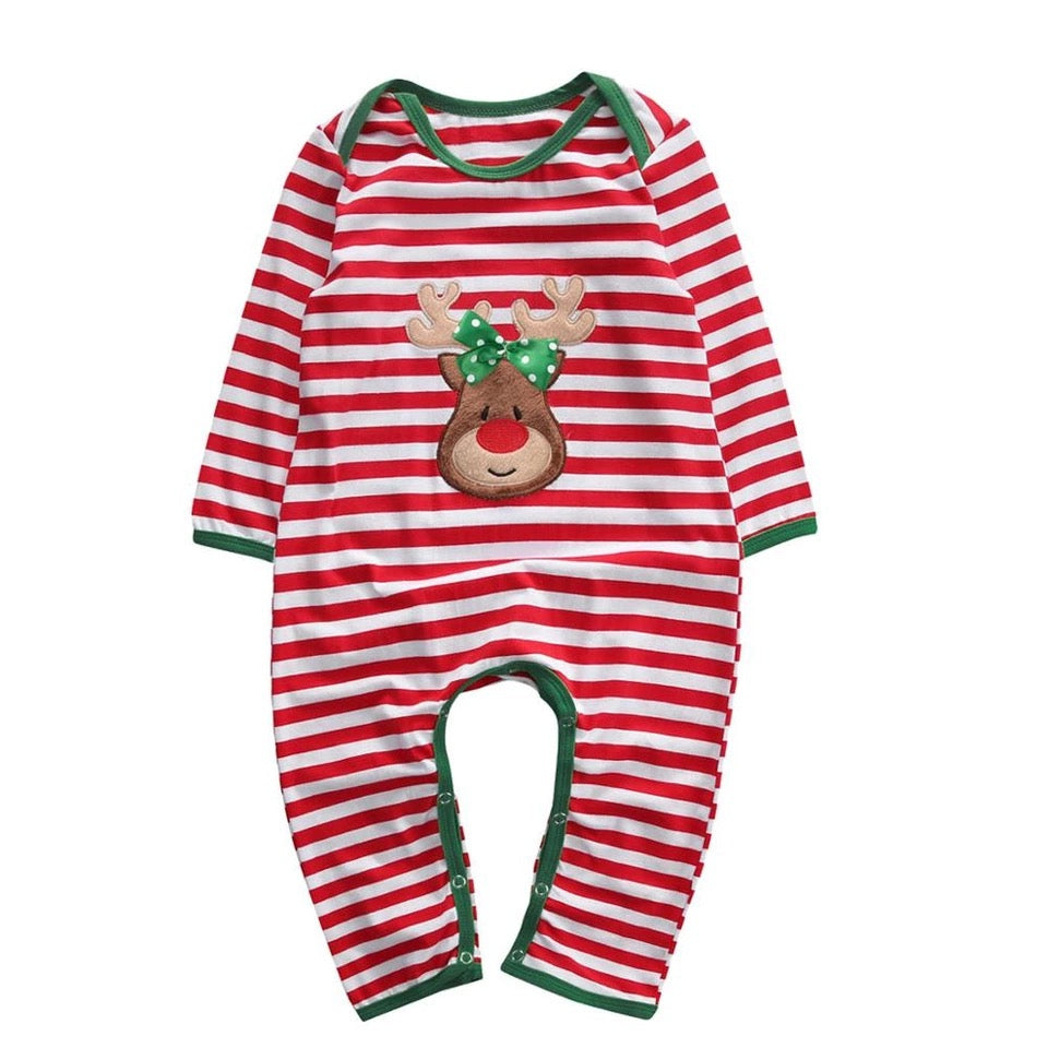 Christmas Rudolph Rompers
