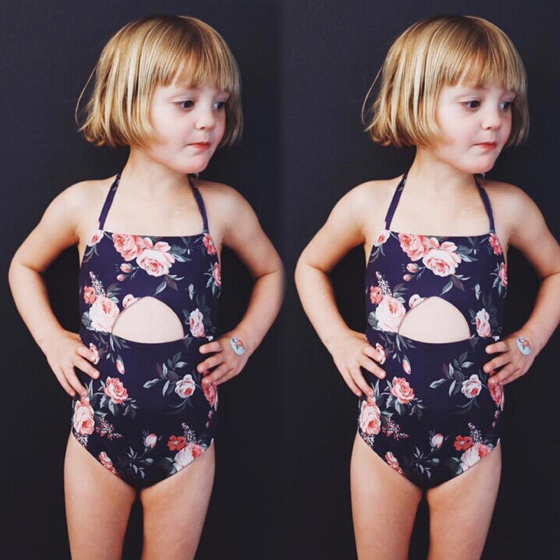 Kids Floral Swim Bikini set