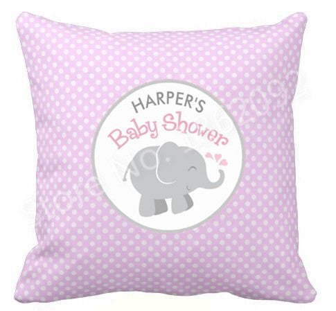 Customized Cushion cover for Baby Shower