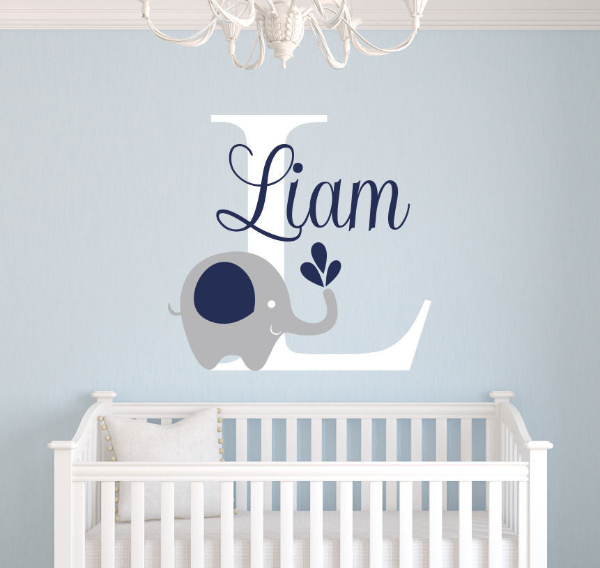 Custom Elephant wall decal