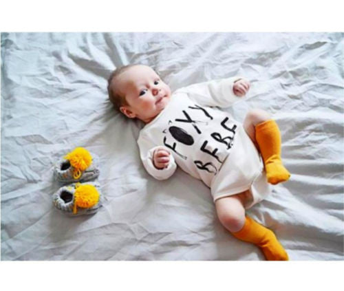 Newborn Baby Fox Tail Bodysuit
