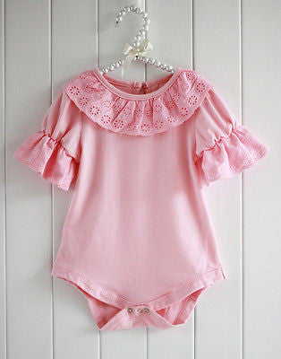 Baby  Lace Collar rompers