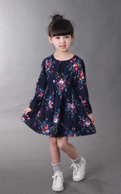 Girls Dress with flowers