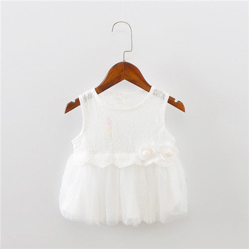 Sweet Baby Dress Cotton Flower Tutu Dress