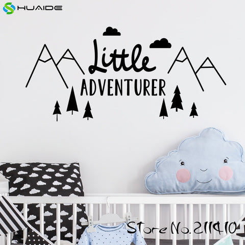 Little Adventurer Home Wall Decal