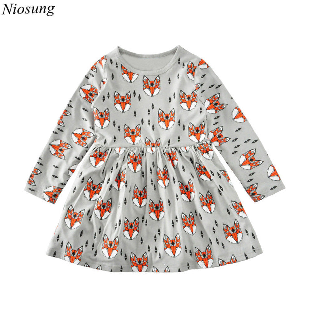 Baby Girl fox Dress