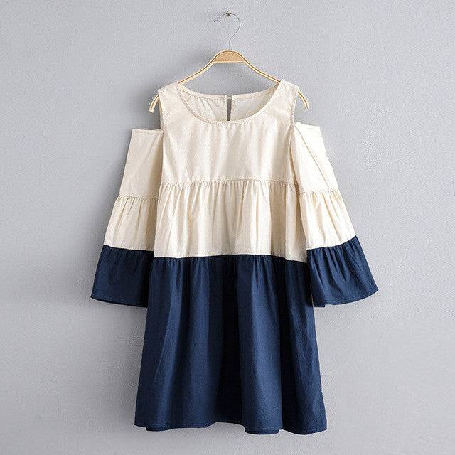 Girls off shoulder dress