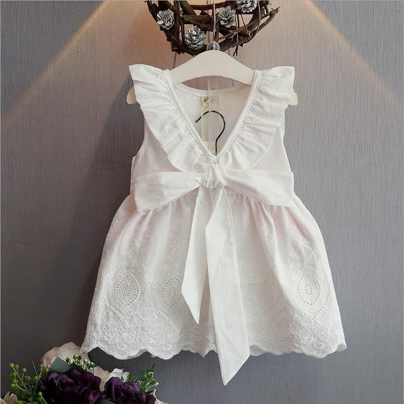 Girls Summer dress with Bow