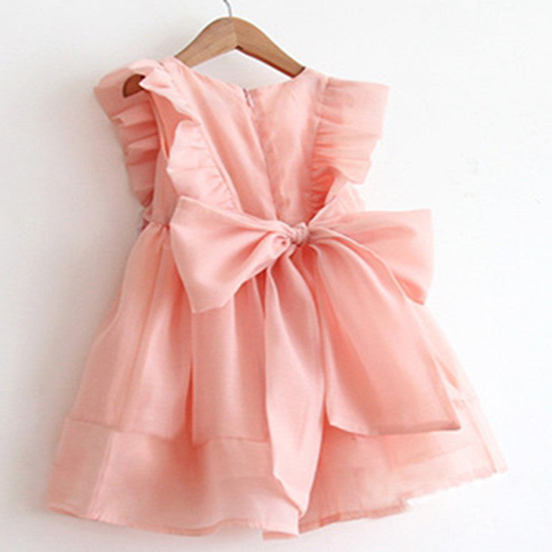 Girls summer sweet and lovely tutu party dress