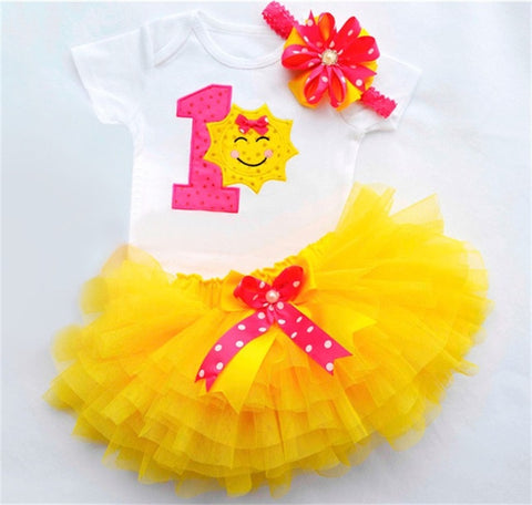 First Birthday Your are my sunshine outfit