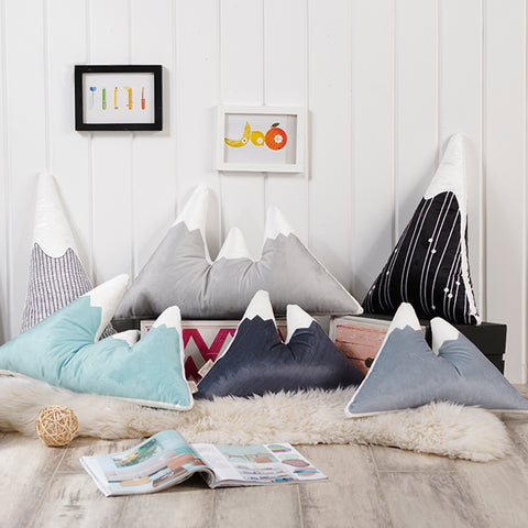 Exclusive: Mountain Shaped Cushions