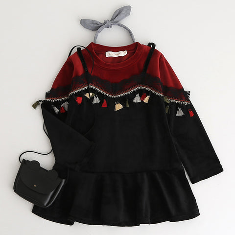 Girls  Tassels Dress