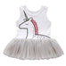 Girls Unicorn Tutu dress