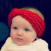 Knit Crochet Turban Headband