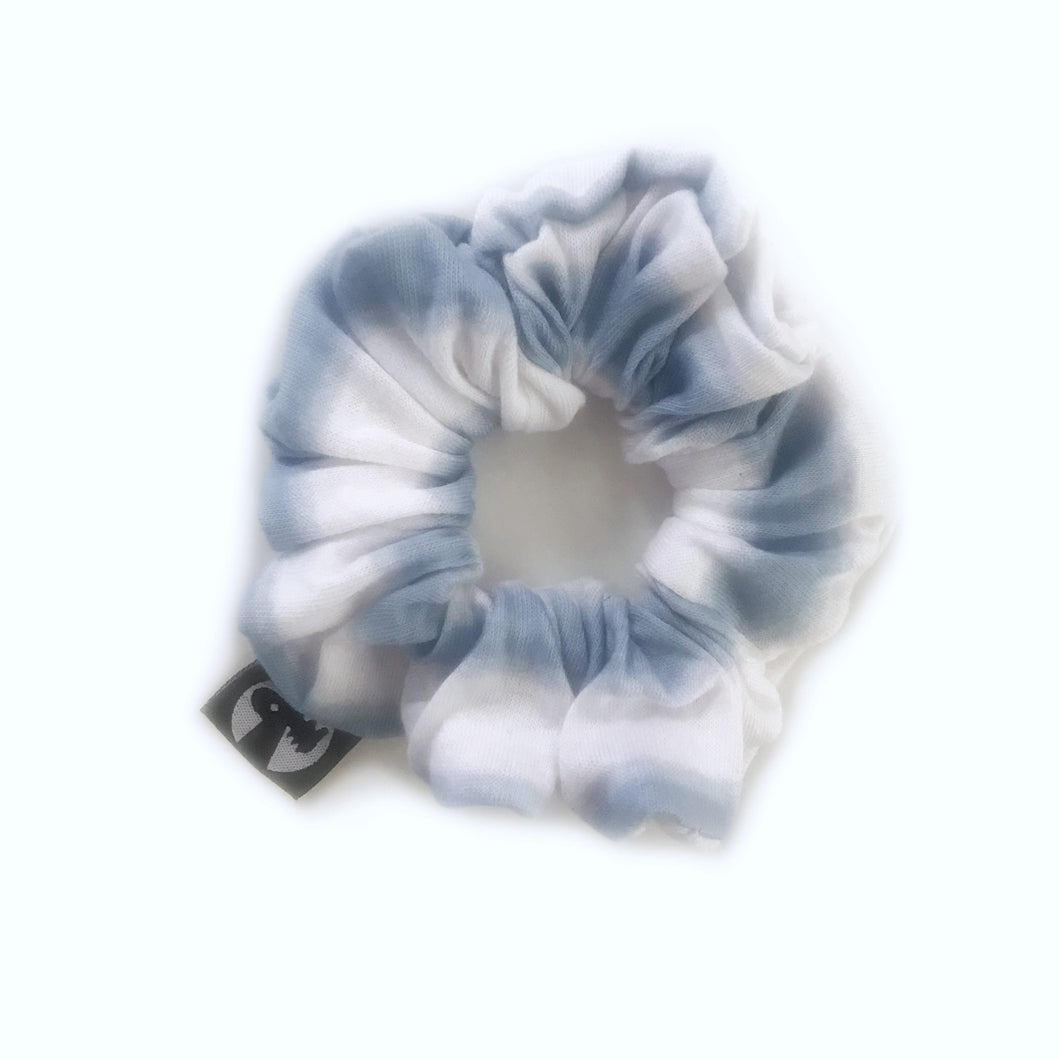LAST CALL! Scrunchie Single - Blue Tie Dye