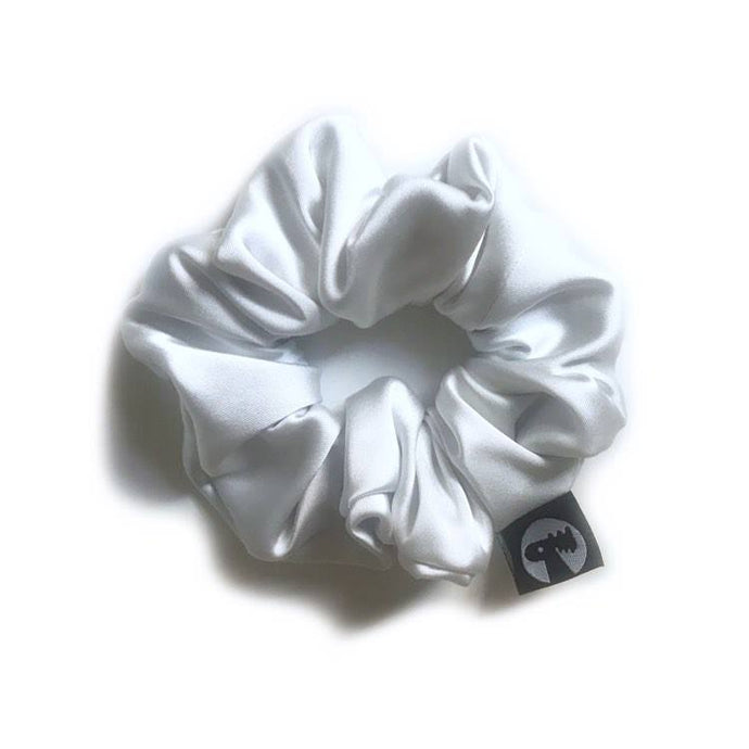 NEW! Scrunchie Single - White Satin