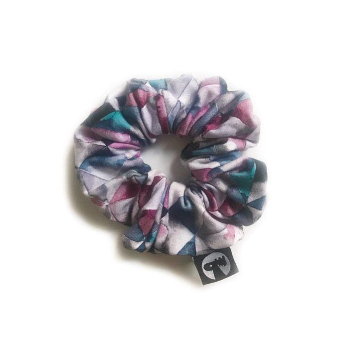 LAST CALL! Scrunchie Single - Geometric Watercolour