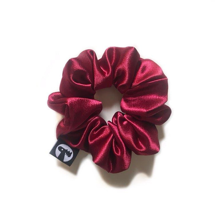 Scrunchie Single - Wine Satin