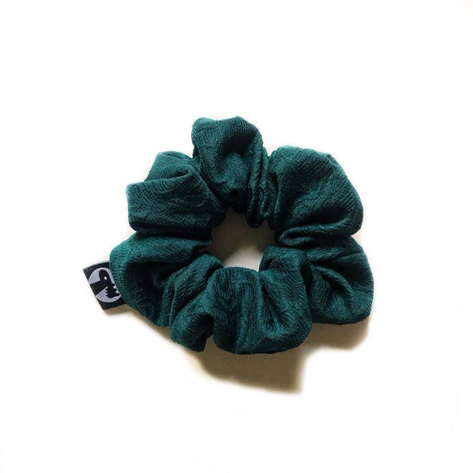 NEW! Scrunchie Single - Embossed Emerald