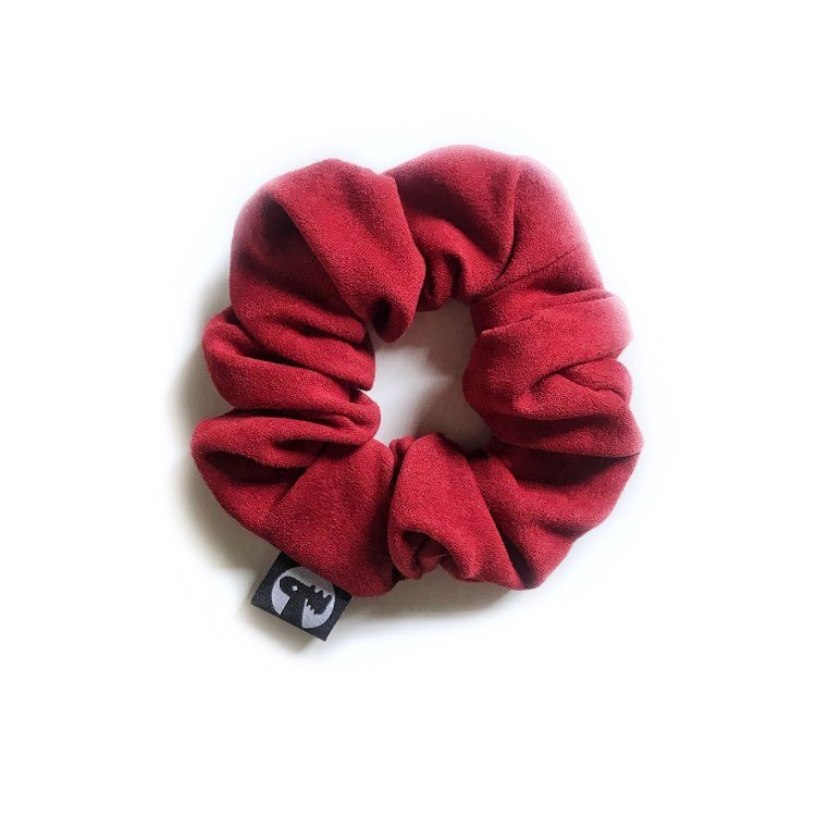 Scrunchie Single - Crimson Suede