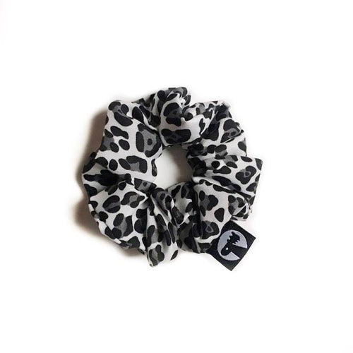 NEW! Scrunchie - Monochrome Cheetah