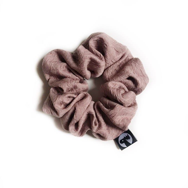 LAST CALL! Scrunchie - Embossed Periwinkle