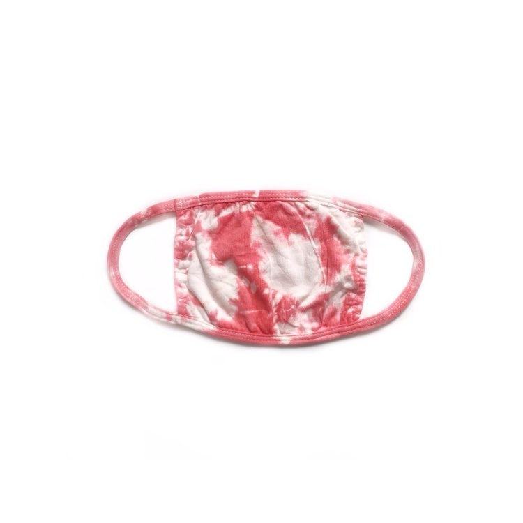 NEW! Mask - Coral Tie Dye