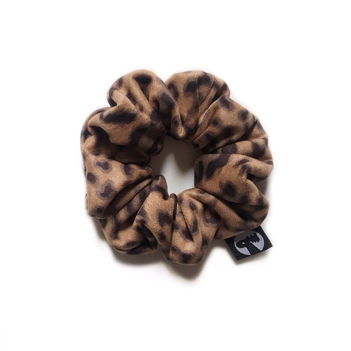 NEW! Scrunchie - Plush Cheetah