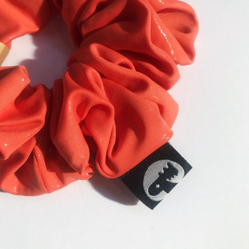 Scrunchie Single - Peach Shimmer