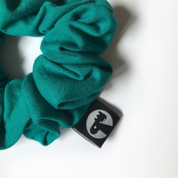 Scrunchie Single - Teal Knit