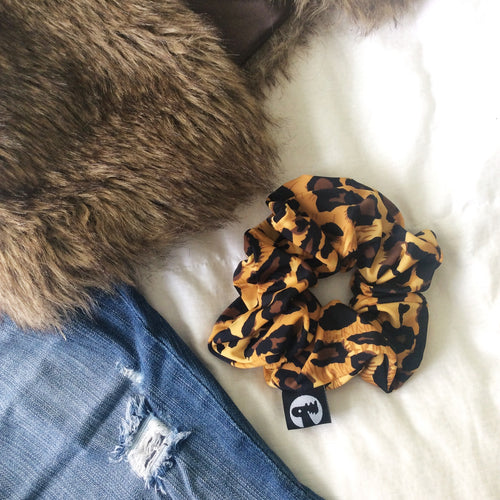 Scrunchie Single - Leopard