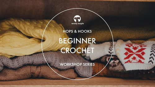 Learn to Crochet Workshop - November 28, 2019