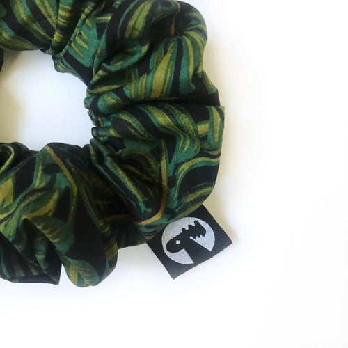 Scrunchie Single - Monstera Leaf