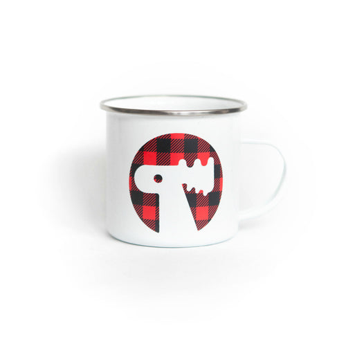 Buffalo Plaid Camper Mug