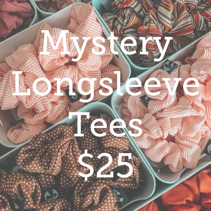 Mystery Long Sleeve Tee - Unisex