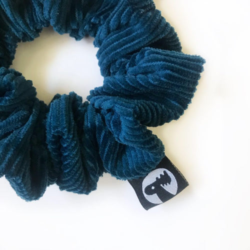 Scrunchie Single - Teal Corduroy
