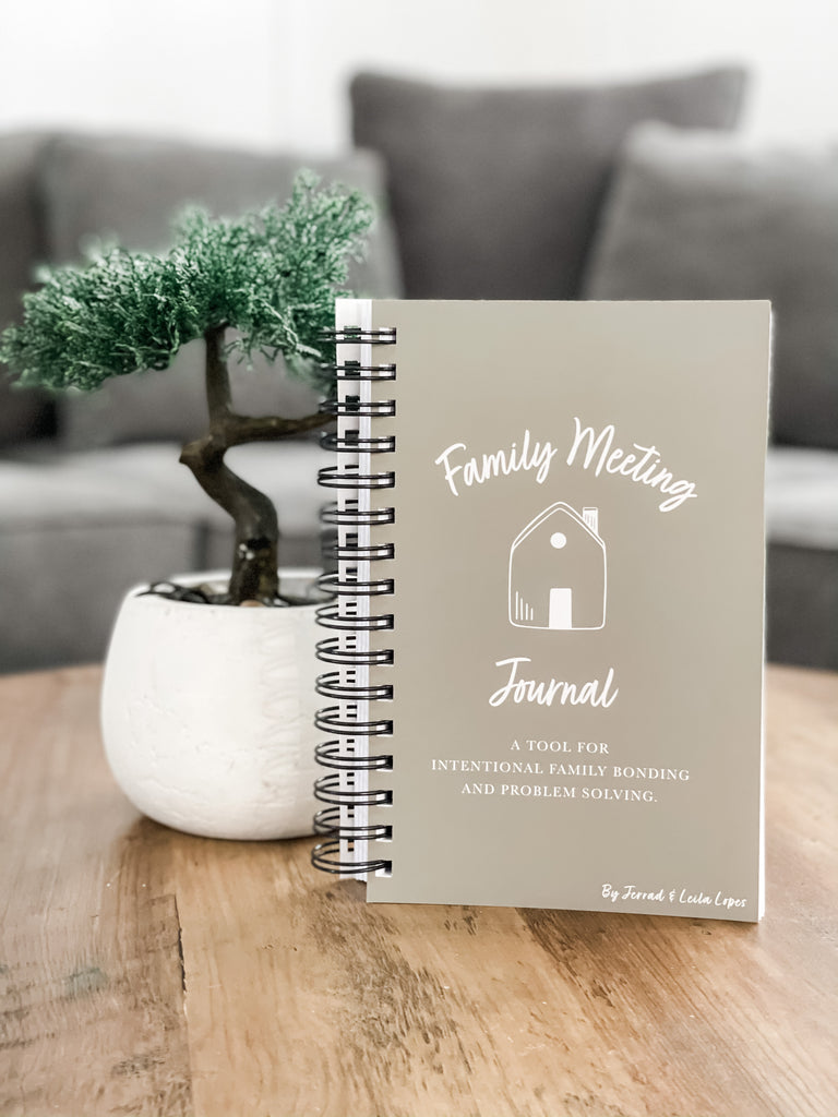Family Meeting Journal