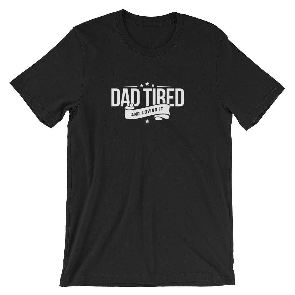 Dad Tired Logo Tee