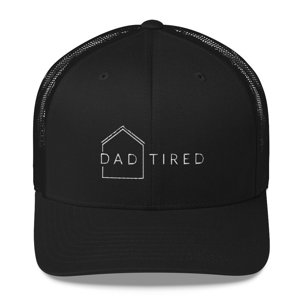 Dad Tired Trucker Cap