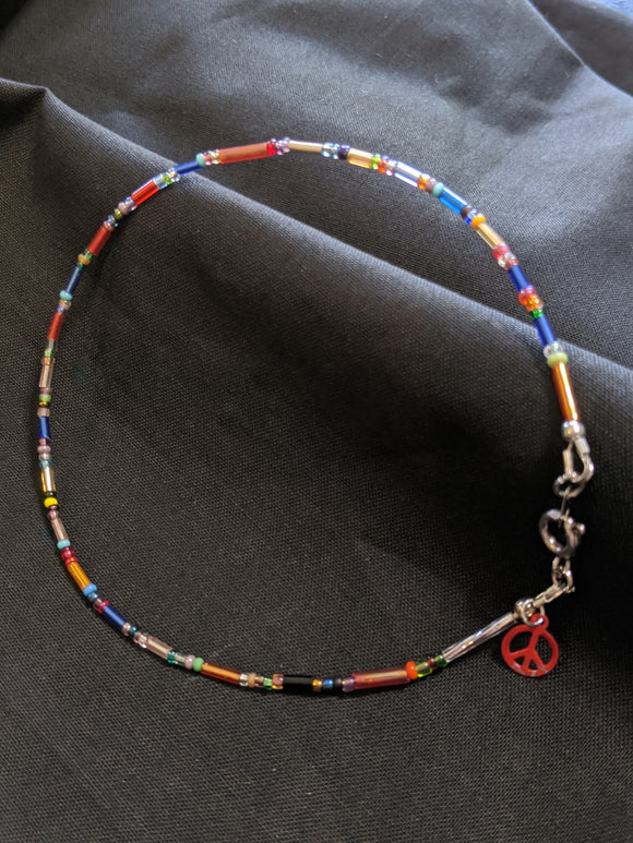 Boho Chic Peace Anklet