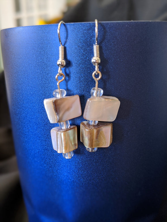 Pink Shells Earrings
