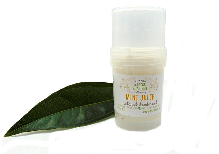 Natural Deodorant - We have made the switch...
