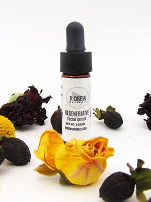 Sample - Regenerative Facial Serum with Sea Buckthorn - R. Drew Naturals