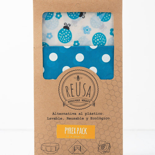 Beeswax Wraps - Pyrex Pack